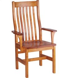 Marshall Arm Chair - Wood Seat