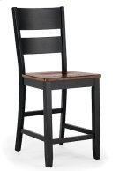 Ladder Back Stool (ebony) Product Image