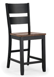 Ladder Back Stool (ebony)
