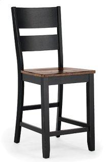 Ladder Back Stool (ebony)