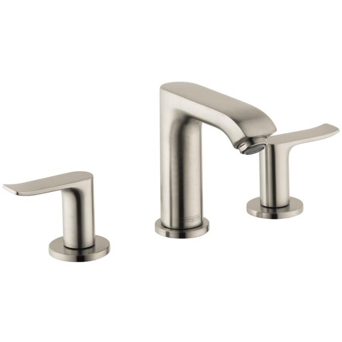 Brushed Nickel Metris 100 Widespread Faucet, 1.2 GPM