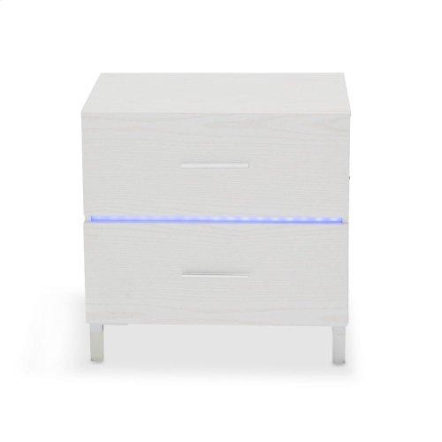 Nightstand W/led Lighting