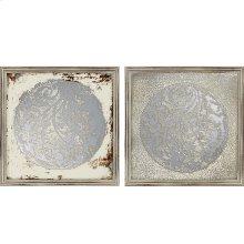 Vine Motif Mirrors Pk/2