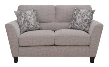 Emerald Home Speakeasy Loveseat W/2 Pillows Speckled Brown U3207-01-25