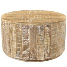 Eva Coffee Table in Distressed Natural Product Image
