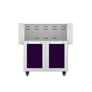 "Hestan30"" Hestan Outdoor Tower Cart with Double Doors - GCD Series - Lush"