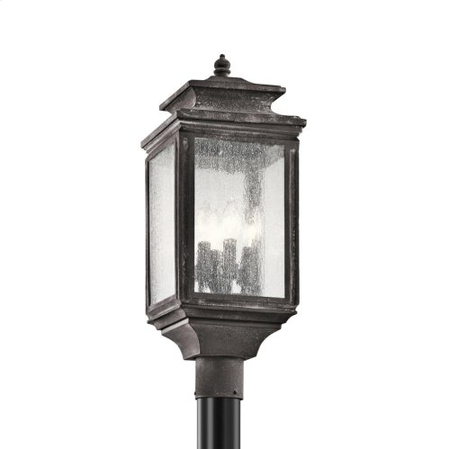 Wiscombe Park Collection Outdoor Post Mt. 4 Light WZC