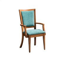 Riverton Side Chair, Leather Cushion Seat