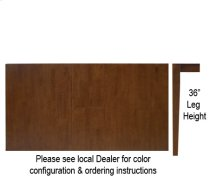 """32"""" x 48"""" x 60"""" Table w/ 36"""" Shaker Legs Http://www Product Image"""
