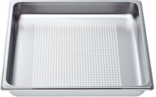 """Perforated cooking pan - full size, 1 5/8"""" deep"""