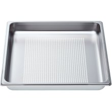 "Perforated cooking pan - full size, 1 5/8"" deep"