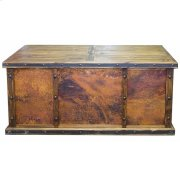Laguna Copper Desk W/3 Copper Panels Product Image