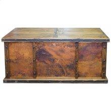 Laguna Copper Desk W/3 Copper Panels