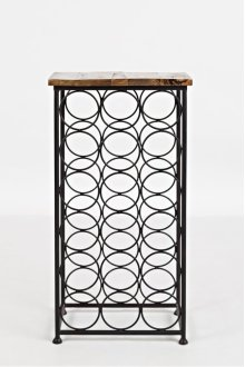Global Archive Accent Table W/bottle Storage