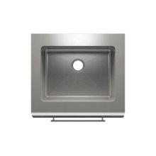 "Classic+ 000210 - farmhouse stainless steel Kitchen sink , 24"" × 18"" × 10"""