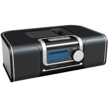 """XM Ready"" Hi-Fi Desktop Radio with CD Media Center"
