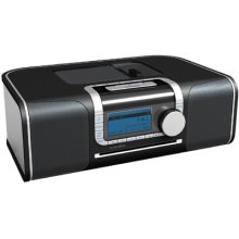 """XM Ready"" Hi-Fi Desktop Radio with CD Media Center"