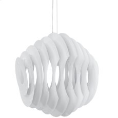 Fish Aluminum Chandelier in White Product Image