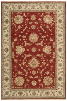 Legend Ld02 Red Rectangle Rug 5'6'' X 8'6''
