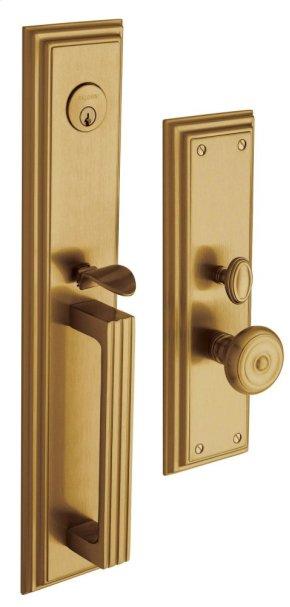 Vintage Brass Tremont Entrance Trim