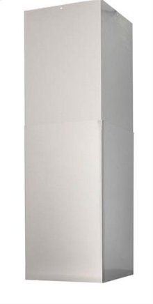 Optional flue extension for 9 - 10 ceiling application (ducted) for use with IBF4I range hood DISCONTNUED