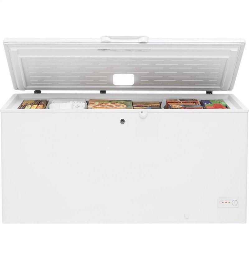FCM16DLWW in White by GE Appliances in Abbotsford, WI - GE® 15 7 Cu