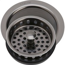"""Elkay 3-1/2"""" Drain Fitting Antique Steel Finish Disposer Flange and Removable Strainer"""