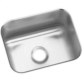 "Elkay Lustertone Classic Stainless Steel 14-1/2"" x 11-3/4"" x 7"", Single Bowl Undermount Bar Sink"