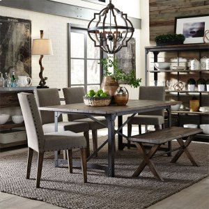 Liberty Furniture Industries 6 Piece Rectangular Table Set