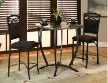 CR-72130  3 Piece Round Counter Height Dining Set