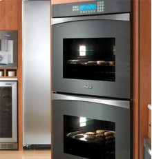 """Preference Discovery 30"""" Double Wall Oven, with Glass Panel in Slate Green"""