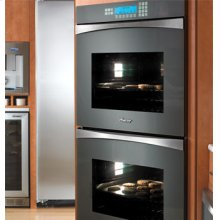 "Preference Discovery 30"" Double Wall Oven, with Glass Panel in Black"