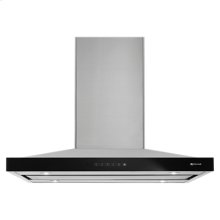 "Euro-Style Stainless 36"" Pyramid Style Canopy Island Hood"
