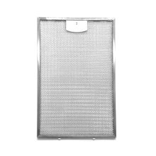 Dishwasher safe aluminum mesh filter set that fits all model XOM, XOP, XOQ and XOS hoods.