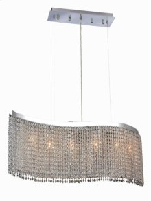 1296 Moda Collection Hanging Fixture Chrome Finish