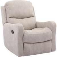 Caleste Stucco Manual Glider Recliner Product Image