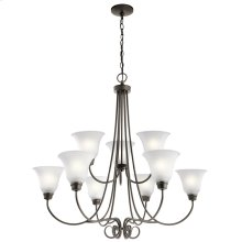 Bixler Collection Bixler 9 Light Chandelier OZ