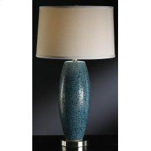 Melrose Blue Table Lamp