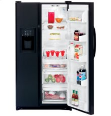 GE CustomStyle™ 22.1 Cu. Ft. Side-By-Side Refrigerator with Dispenser