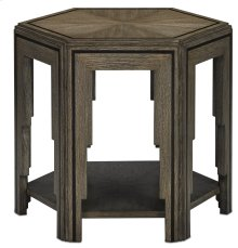 Losari Side Table - 22.1875h x 25.25w x 22.25d
