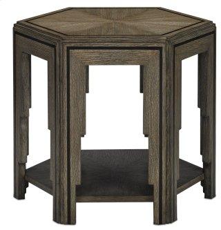Losari Side Table - 22.1875h x 25.25w x 22.25d