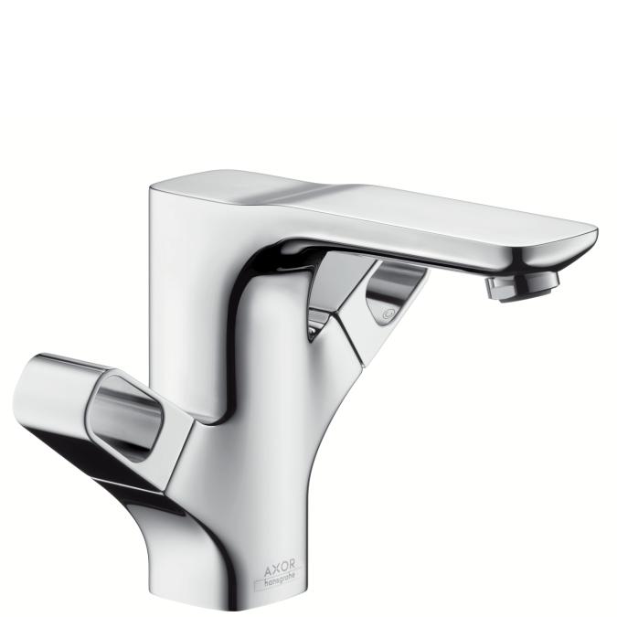 Chrome Urquiola 2-Handle Single Hole Faucet