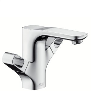 Chrome Urquiola 2-Handle Single Hole Faucet Product Image