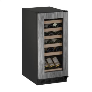 "U-Line 1000 Series 15"" Wine Captain(r) Model With Integrated Frame Finish And Field Reversible Door Swing (115 Volts / 60 Hz)"