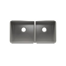 "J7® 003947 - undermount stainless steel Kitchen sink , 18"" × 16"" × 8""  15"" × 16"" × 8"""