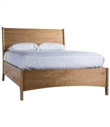 Brancusi Sleigh Storage Bed