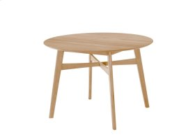 """Emerald Home Simplicity Round Dining Table 42"""" Natural D546-15"""