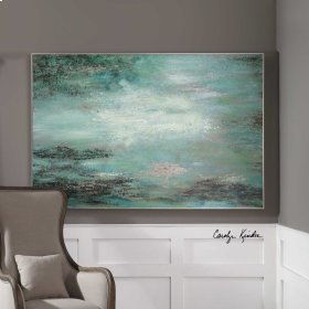 Restless Skies Hand Painted Canvas