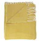 "Throw Sz008 Mustard 50"" X 70"" Throw Blankets Product Image"