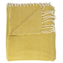 "Throw Sz008 Mustard 50"" X 70"" Throw Blankets"